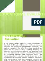 Educational Evaluation