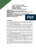 Programa de derecho publico provincial