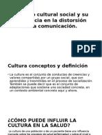 Cultura en La Medicina
