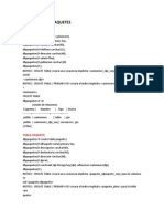Base de Datos Paquetes Psql