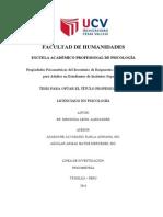 Propiedades Psicométricas del Inventario de Respuestas de Afrontamiento para Adultos en Estudiantes de Institutos Superiores.