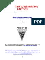 Beginning Screenwriting - Alex Epstein