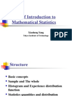 A Brief Introduction to Mathematical Statistics