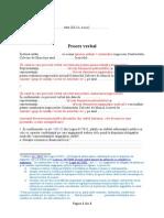 Proces-Verbal de Negociere a CCM - Model