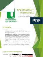 Radiometría y Fotometría