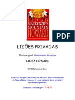 [Montanhas Mackenzie 01] [Linda Howard] Lições Privadas (1)