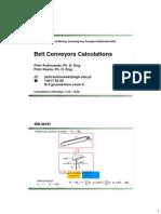 BeltonveyorsCalculationsDIN22101 Eng