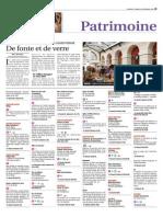 Programme des Journées du patrimoine 2015 dans l'Yonne
