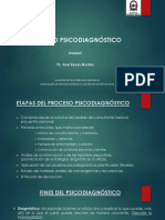 Proceso Psicodiagnostico UNAB