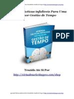 eBook Gestao de Tempo - Aprenda a administrar seu tempo