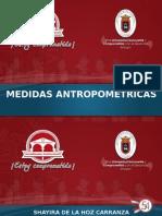 MEDIDAS ANTROPOMETRICAS.