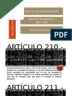 Artículo 209°Recurso de apelación