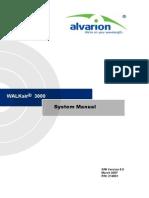 WALKair 3000 System Manual_070307