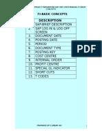 SAP Basic Concepts
