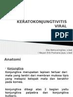 Keratokontivitis Viral