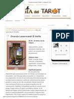 Oraculo Lenormand_ El Anillo - La Magia Del Tarot