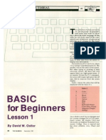 Basic 4 Beginners I
