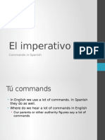 el imperativo commands