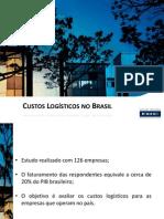 Pesquisa Custo Logistico Brasil _Fund Dom Cabral