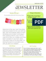 newsletter  week 1  yr 2