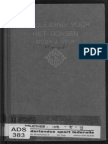 Handbook of Boxing - J. Stuv (Dutch Royal Navy) 1919