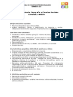 Temario EM Historia Geografia Sociales