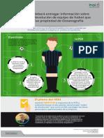 Infografía sobre recurso vs @PGR_mx sobre devolución de equipo de fútbol a empresa relacionada con Oceanografía