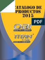 Catalogo Obi 2015