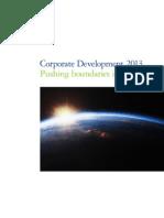 Nl Deloitte Corporate Development Report 2013