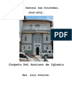 Carpeta Del Anciano de Iglesia-central