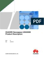 HUAWEI Secospace USG5500 Product Description