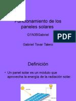Funcionamiento de Los Paneles Solares