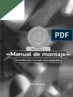 THOMSON- Manual de montaje- gramàtica del montaje cinematogràfico