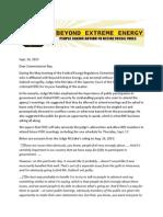 9-16-15 Letter To Commissioner Bay