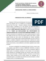 Universidad Nacional Pedro Ruiz Gallo Facultad De