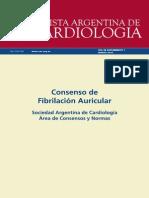 Consenso de Fibrilacion Auricular 2015