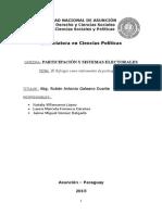Participación y Sistemas Electorales