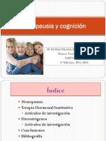 Menopausia Y Cognicion