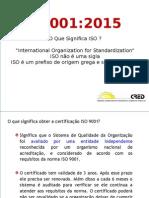 Apresentação Iso 9001 2015