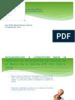 19011 2012 Actualizacion Auditorias SAINC S.a.