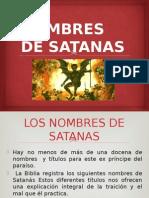 Los Nombres de Satanas