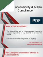 Web Accessibility & AODA Compliance