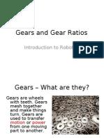 Robotics - Gears and Gear Ratios