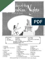 Arabian Nights Boardgame Rules