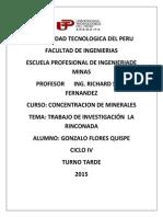 Investigacion La Rinconada mineria informal