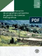 Gestion Cuencas FAO