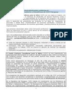 Convocatoria Consultores CCFC PY 2015 AMPLIADA
