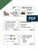 Slide Da Aula 03 - Morfossintaxe Do Português - Letras - Circuito 3