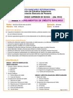 Fundamentos de Credito Bancario - Modulo 9