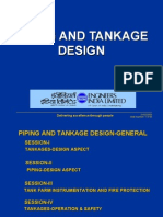 Piping and Tank Design